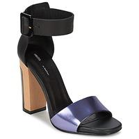 Zapatos Mujer Sandalias Miista LILY Negro / Lavanda