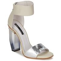 Zapatos Mujer Sandalias Miista JAYDA Blanco / Plateado