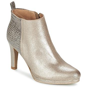 Zapatos Mujer Botines Myma MARA Plateado
