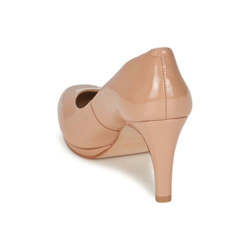 Mujer De Pikkima Nude Buffalo Tacón Zapatos 3c5jqARL4