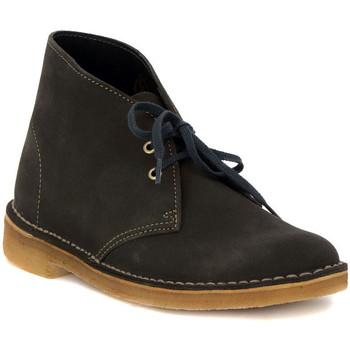 Zapatos Mujer Zapatillas bajas Clarks DESERT BOOT W  LODEN Verde