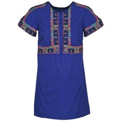 textil Mujer vestidos cortos Antik Batik EMILIE Marino