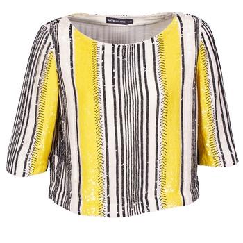 textil Mujer Tops / Blusas Antik Batik ZABOU Amarillo / Blanco / Negro