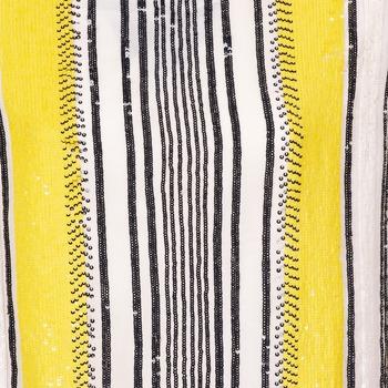 Antik Batik ZABOU Amarillo / Blanco / Negro