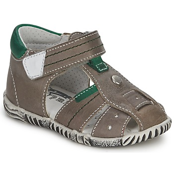 Zapatos Niño Sandalias Primigi QUINCY Gris / Verde