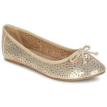 Zapatos Niña Bailarinas-manoletinas Xti JANIN Dorado