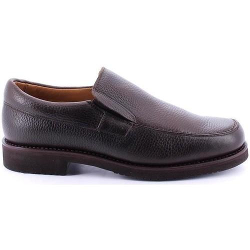 Zapatos Hombre Mocasín Losal 2457 Marrón