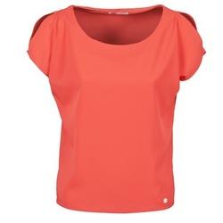 textil Mujer camisetas manga corta Les P'tites Bombes S145003 Rojo