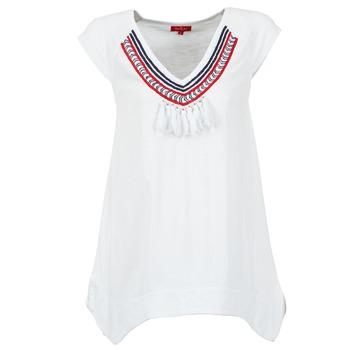 textil Mujer camisetas manga corta Derhy GALION Blanco