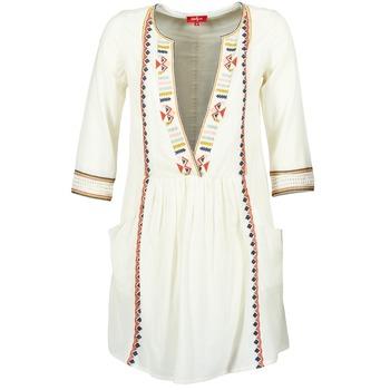 textil Mujer vestidos cortos Derhy EMBOUCHURE Crudo