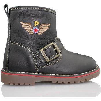 Zapatos Niños Botas de caña baja Pablosky TOMCAT BOTA NEGRO