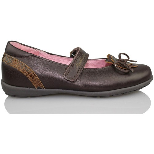 Zapatos Niña Bailarinas-manoletinas Pablosky MERCEDITA OPERA NIÑA MARRON