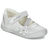 Zapatos Niña Bailarinas-manoletinas Primigi ROSELINE-E Plateado