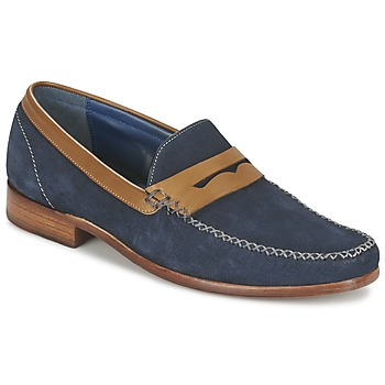 Zapatos Hombre Mocasín Barker WILLIAM Marino