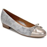 Zapatos Mujer Bailarinas-manoletinas Ara ELIALE Gris / Oro