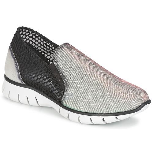 Zapatos Mujer Zapatillas bajas Felmini ARJEMISE Plateado / Negro