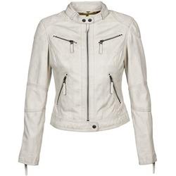 textil Mujer Chaquetas de cuero / Polipiel Oakwood 60135 Blanco