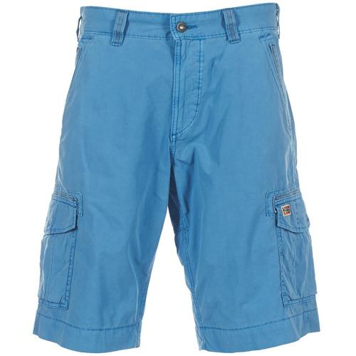 textil Hombre Shorts / Bermudas Napapijri PORTES A Azul