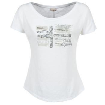 textil Mujer camisetas manga corta Napapijri SINK Blanco