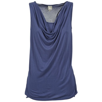 textil Mujer camisetas sin mangas Bench DUPLE Azul