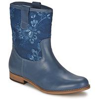Zapatos Mujer Botas de caña baja Alba Moda FALINA Azul