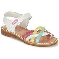 Zapatos Niña Sandalias Pablosky ATINA Blanco / Multicolor