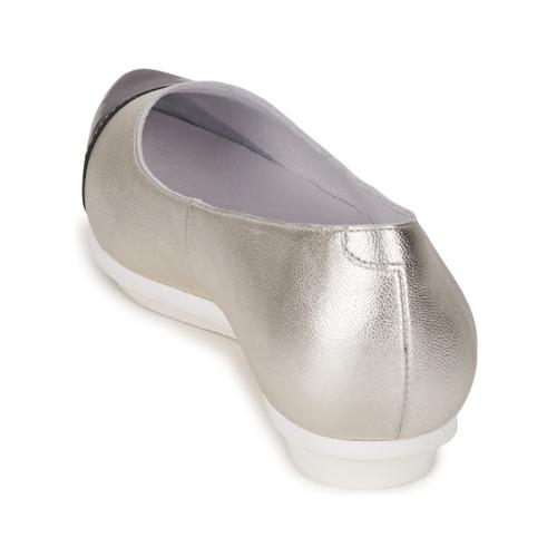 PlataNegro manoletinas Drinite Bailarinas Mujer Moda Zapatos Alba DIH2EW9