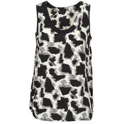 textil Mujer camisetas sin mangas Joseph DEBUTANTE Negro / Blanco / Gris