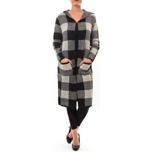 textil Mujer Chaquetas de punto De Fil En Aiguille Cardigan long K100 beige Beige