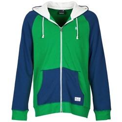 textil Hombre sudaderas Nixon ANCHOR Azul / Verde