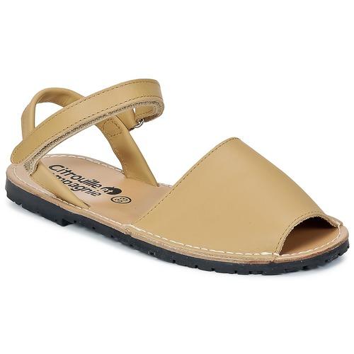 Zapatos Niña Sandalias Citrouille et Compagnie BERLA Beige