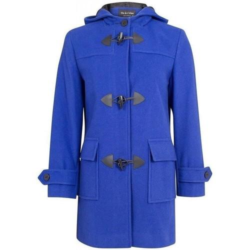 textil Mujer Abrigos De La Creme  azul