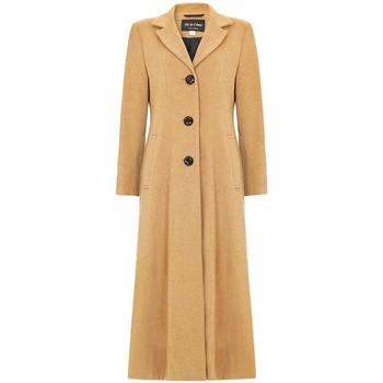 textil Mujer Abrigos De La Creme Abrigo Largo Doble Sencillo Beige