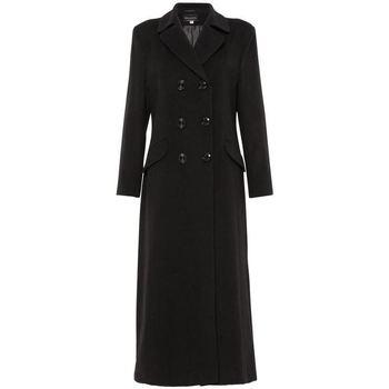 textil Mujer Abrigos De La Creme Anastasia Abrigo Black