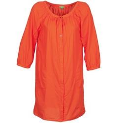 textil Mujer vestidos cortos Bensimon FOURTY Naranja