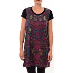 textil Mujer Vestidos cortos Custo Barcelona Robe Geneve Kenai multicouleurs Multicolor