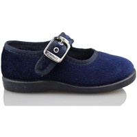 Zapatos Niños Bailarinas-manoletinas Vulladi TERCIOPELO AZUL