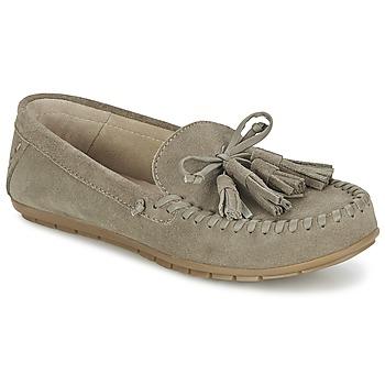 Zapatos Mujer Mocasín Esprit SIRA LOAFER Kaki / Claro