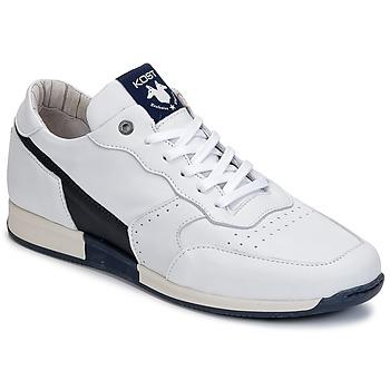Zapatos Hombre Zapatillas bajas Kost HOOPER Blanco / Marino