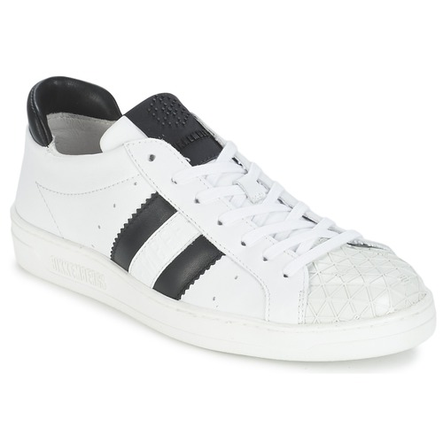 Descuento de la marca Zapatos especiales Bikkembergs BOUNCE 594 LEATHER Blanco / Negro