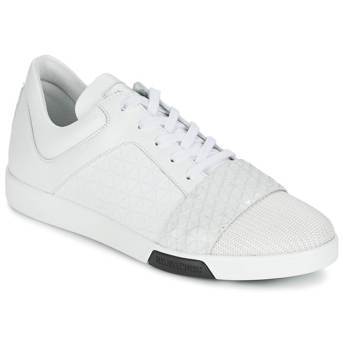 Zapatos especiales para hombres y mujeres Bikkembergs OLYMPIAN LEATHER Blanco