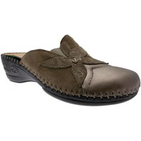 Zapatos Mujer Zuecos (Clogs) Riposella RIP6651t tortora