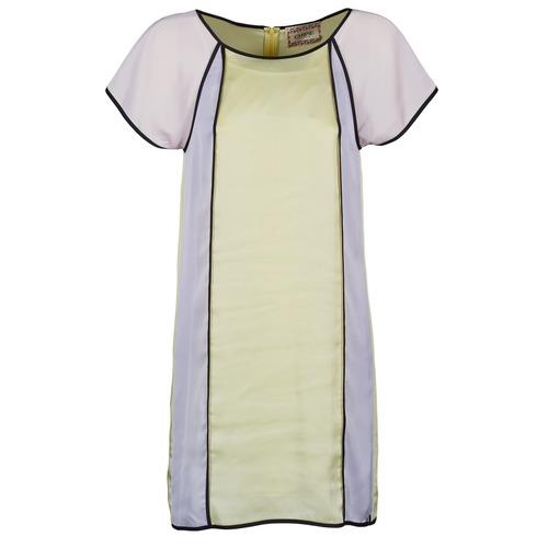textil Mujer vestidos cortos Chipie FREGENAL Amarillo / Gris