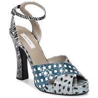 Zapatos Mujer Sandalias Marc Jacobs Elap Azul / Blanco