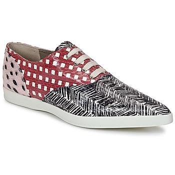 Zapatos Mujer Derbie Marc Jacobs Elap Negro / Blanco / Rojo
