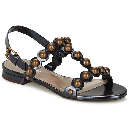Zapatos Mujer Sandalias Marc Jacobs Vegetal Negro