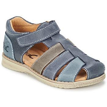 Zapatos Niño Sandalias Citrouille et Compagnie ZIDOU Marino / Gris