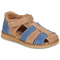 Zapatos Niño Sandalias Citrouille et Compagnie FRINOUI Marrón / Azul