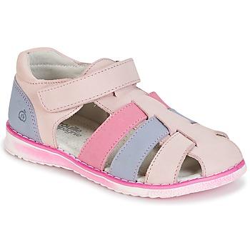 Zapatos Niña Sandalias Citrouille et Compagnie FRINOUI Rosa / Azul / Claro / Fucsia