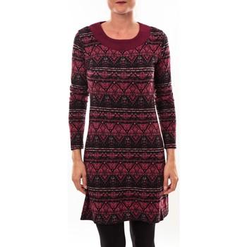 textil Mujer Túnicas Barcelona Moda Robe pull 71565011 bordeaux Rojo